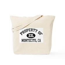 Property of MONTECITO Tote Bag