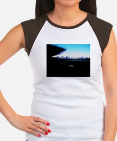 Sunset and pylons Women's Cap Sleeve T-Shirt