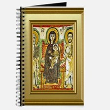 Orthodox ikon of Mary and the child Jesus Journal