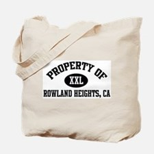 Property of ROWLAND HEIGHTS Tote Bag