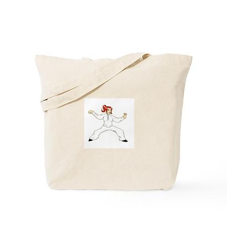 Tai Chi Single Whip Tote Bag