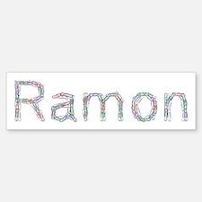 Ramon Paper Clips Bumper Bumper Bumper Sticker