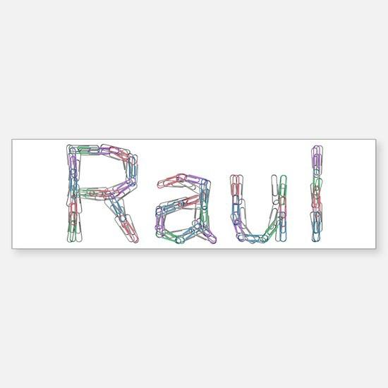 Raul Paper Clips Bumper Bumper Bumper Sticker