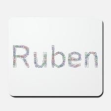 Ruben Paper Clips Mousepad