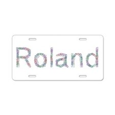 Roland Paper Clips Aluminum License Plate