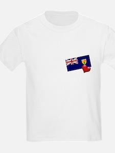 Turks and Caicos Islands Kids T-Shirt