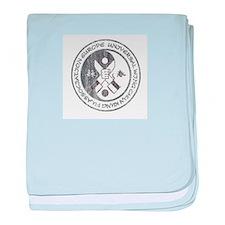 Wing Chun Logo baby blanket