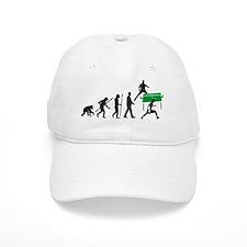 evolution table tennis player Baseball Cap