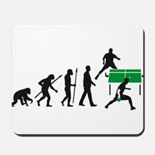 evolution table tennis player Mousepad