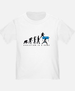 evolution table tennis player T