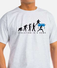 evolution table tennis player T-Shirt