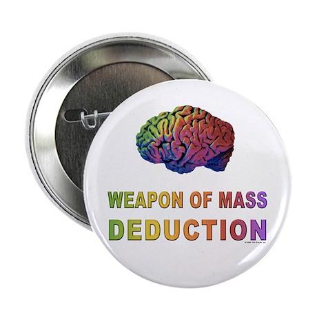 """Brain WMD 2.25"""" Button (10 pack)"""