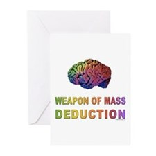 Brain WMD Greeting Cards (Pk of 10)