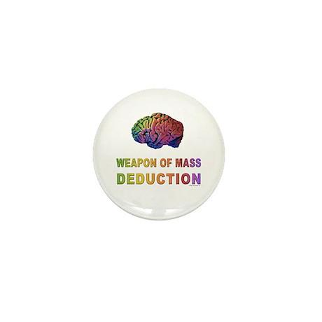 Brain WMD Mini Button