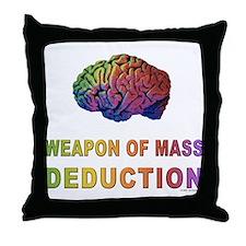 Brain WMD Throw Pillow