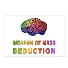 Brain WMD Postcards (Package of 8)