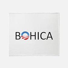 BOHICA Throw Blanket
