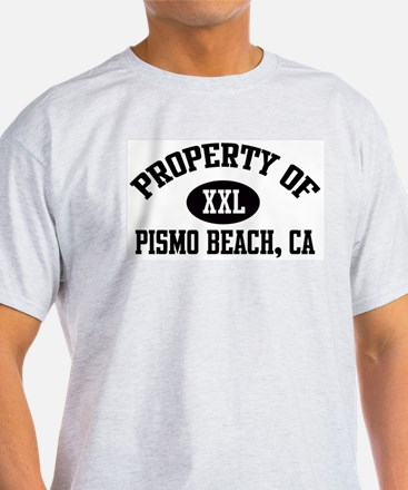 Property of PISMO BEACH Ash Grey T-Shirt