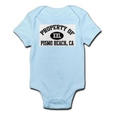 Property of PISMO BEACH Infant Creeper