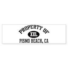 Property of PISMO BEACH Bumper Bumper Sticker