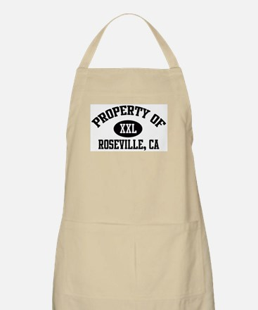 Property of ROSEVILLE BBQ Apron