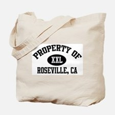 Property of ROSEVILLE Tote Bag