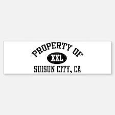 Property of SUISUN CITY Bumper Bumper Bumper Sticker