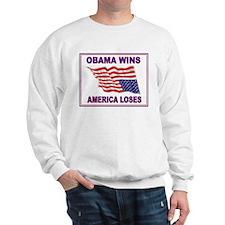 OBAMA WINS Sweatshirt