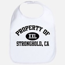 Property of STRONGHOLD Bib