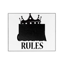 King Obama Rules Picture Frame