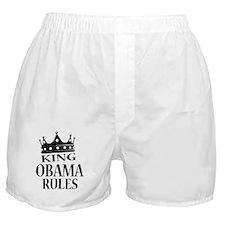 King Obama Rules Boxer Shorts