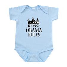 King Obama Rules Infant Bodysuit