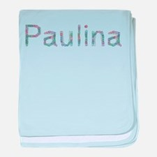 Paulina Paper Clips baby blanket