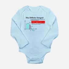 The Difinite Integral Long Sleeve Infant Bodysuit