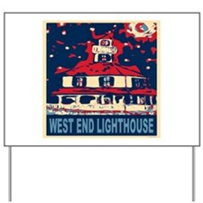 New Orleans Lighthouse Yard Sign