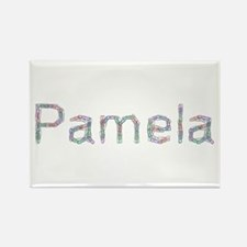 Pamela Paper Clips Rectangle Magnet
