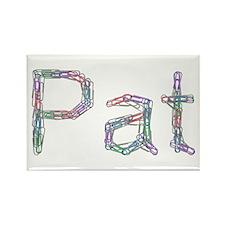 Pat Paper Clips Rectangle Magnet