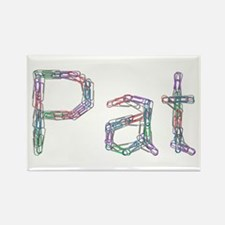 Pat Paper Clips Rectangle Magnet