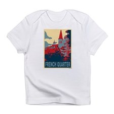 French Quarter in Red and Blue Infant T-Shirt