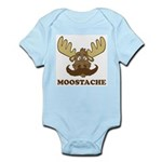 Moostache Infant Bodysuit