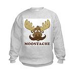 Moostache Kids Sweatshirt