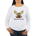 Moostache Women's Long Sleeve T-Shirt
