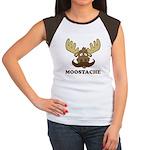 Moostache Women's Cap Sleeve T-Shirt