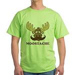 Moostache Green T-Shirt