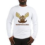 Moostache Long Sleeve T-Shirt