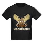 Moostache Kids Dark T-Shirt