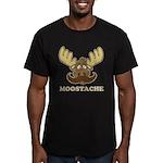Moostache Men's Fitted T-Shirt (dark)