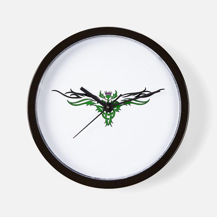 Scottish Thistle Tattoo Design Clocks Scottish Thistle