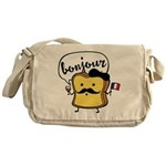 French Toast Messenger Bag