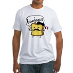 French Toast Fitted T-Shirt